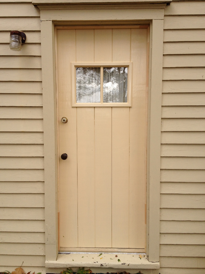board and batten wood door